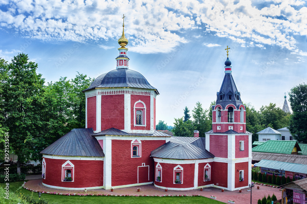 Fototapety, obrazy: Suzdal, Russia - Suzdal, 2017: Church of the Assumption of the Blessed Virgin Mary