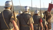 A Roman Legion Was A Large Mil...