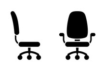 Office Chair Black And White V...