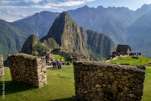 Fotomural  Machu Picchu archeological site from the inside