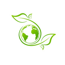Eco Friendly Sign Or Logo