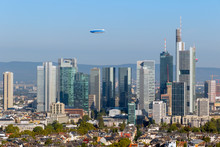 Frankfurt Germany City Skyline