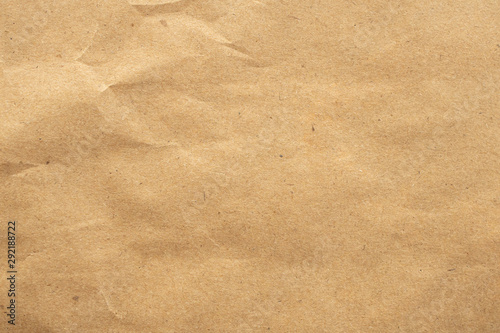 Foto auf AluDibond Natur Old brown eco recycled kraft paper texture cardboard background