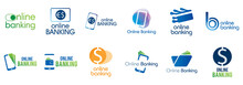 Vector Logo For Online Bank And Online Transfers