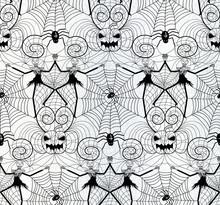 Halloween Nightmare Lace Seaml...