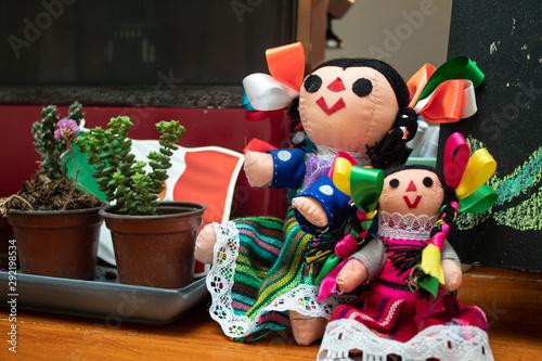 Fototapeta mexican dolls
