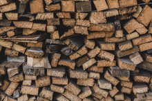 Wood For The Stove For Cold And Frosty Winter