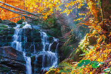 Beautiful Autumn Scenery Near ...