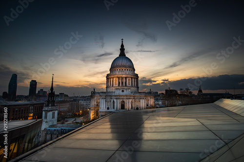 St Paul's Cathedral London United Kingdom Canvas Print
