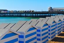 Beach Huts On The British Coas...
