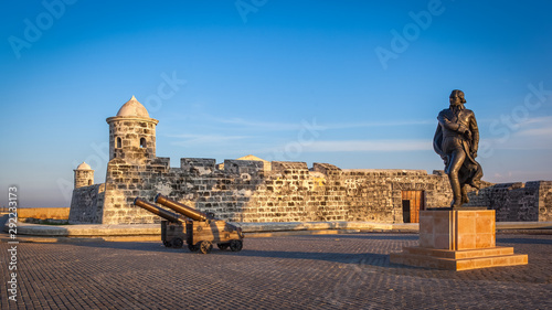The old colonial castle of San Salvador de la Punta (or Castillo de San Salvador Wallpaper Mural