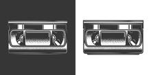 Original Monochrome Vector Ill...