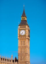 The Clocktower Of Big Ben, Lon...