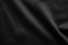 Abstract Black Fabric Cloth Texture Background