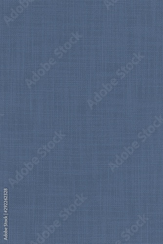 real organic blue linen fabric texture background