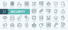 Security - Outline Web Icon Se...