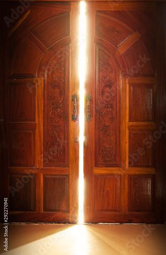 door light Wallpaper Mural