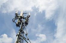 Telecommunication Tower For 5G Network,smart City Equipment