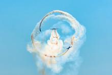 Aerobatics Of A Group Of Aircr...