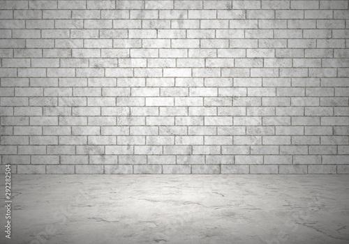 Obraz cement floor - fototapety do salonu