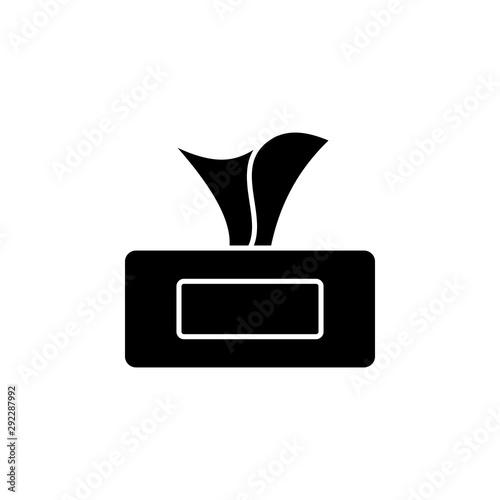 Tissues icon Fototapete