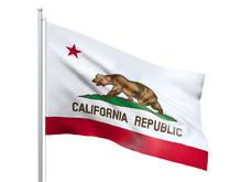 California (U.S. State) Flag W...