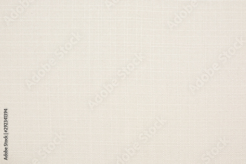 Photo  Fabric canvas natural linen beige texture for backgrounds