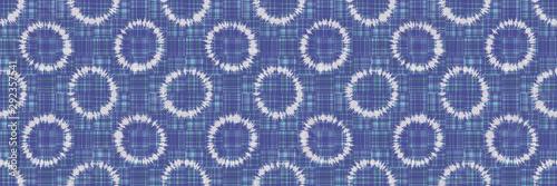 Photo Polka dot ring tie dye seamless border pattern