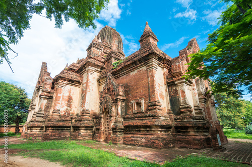 amazing temples of bagan in myanmar Canvas Print