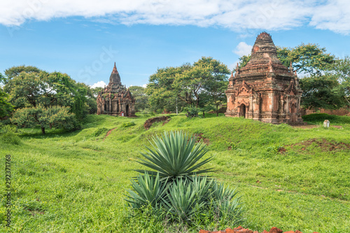 Photo amazing view of bagan temples, myanmar