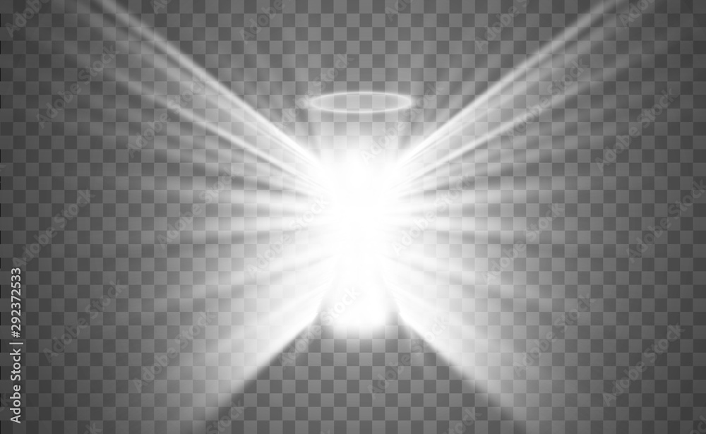 Fototapety, obrazy: Christmas angel. Vector illustration. Angel on a transparent background.