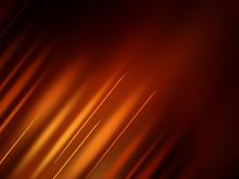 Abstract Dark Orange Background With Stripes