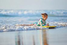 Foamy Waves Of The Beautiful A...