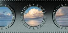 Ship Portholes - Looking Onto ...
