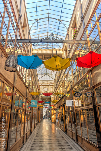 Paris, Passage du Grand Cerf Fototapet