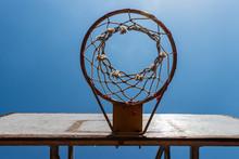 Closeup Outdoor Vintage Basket...