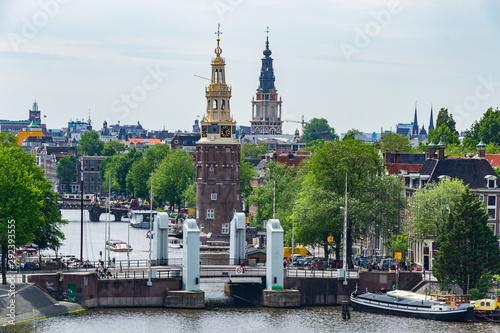 Cityscape of Amsterdam, Netherlands, Europe