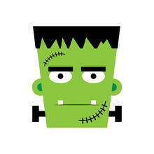 Halloween Frankenstein Vector ...