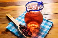 Hibiscus Tea Also Called Jamai...
