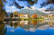 Der Ritzensee in Saalfelden