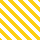 Bright yellow summer color decorative diagonal background made from geometric lines Yellow seamless pattern - 292418304