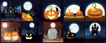 Bundle Of Halloween Dark Scenes