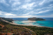 sea and blue sky kissamos greece