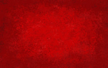 Red Abstract Background With B...