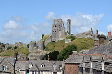 Ruins Of Corfe Castle, Dorset