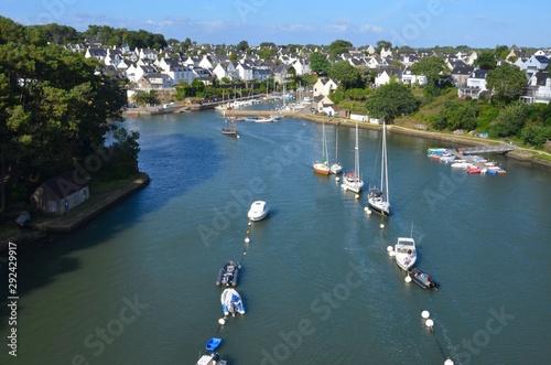 Fotografia  Port du Bono, golf du Morbihan, Brittany, France