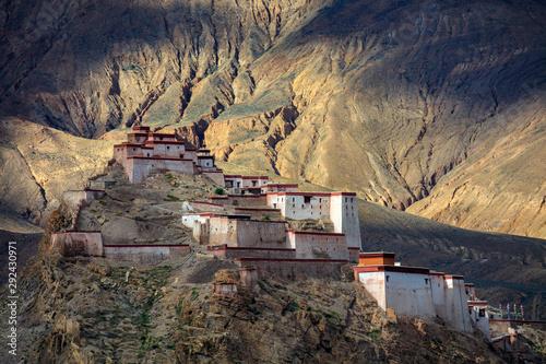 Gyantse Fortress, Gyantse Dzong - the Solemn Persistence of Ancient Tibet Canvas Print