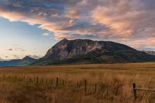 Sunset On Mt. Crested Butte