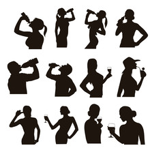Drinking Silhouettes