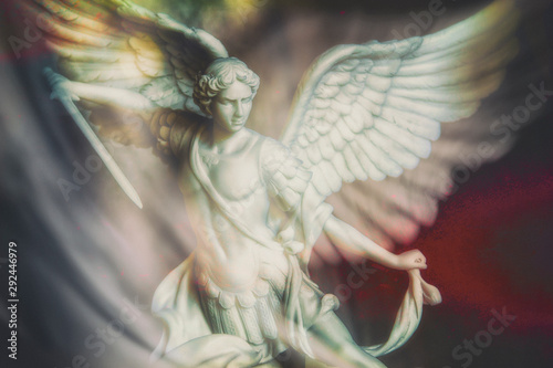Saint Michael the Archangel Wallpaper Mural